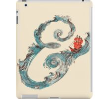 Water Ampersand iPad Case/Skin