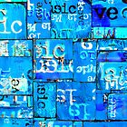 Love And Music #1 - Blue by danmasonartist