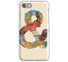 Psychedelic Ampersand iPhone Case/Skin