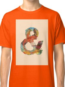 Psychedelic Ampersand Classic T-Shirt
