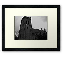 Gothic November Framed Print