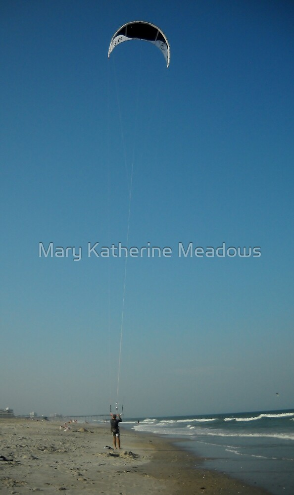 The Kiteboarder by Mary Katherine Meadows