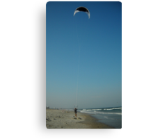 The Kiteboarder Canvas Print