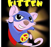 Peace Kitten - superhero for peace by Fizzism