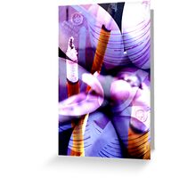 Reflected Flames Greeting Card