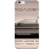 No Roads iPhone Case/Skin