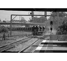 B&W Coal Train - NSW Photographic Print