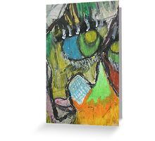Stains and Residues Greeting Card
