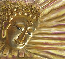 Radiant Buddha by DAdeSimone