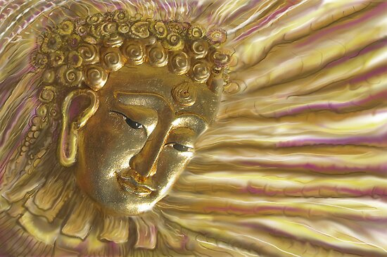 Radiant Buddha by DAdeSimone
