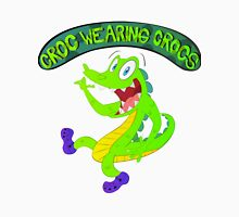 Croc Wearing Crocs Unisex T-Shirt