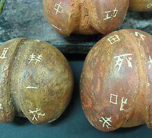 Ceramic Peaches by Karmen Chak
