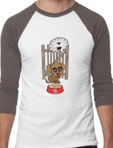 Dreaming Doggie Men's Baseball ¾ T-Shirt