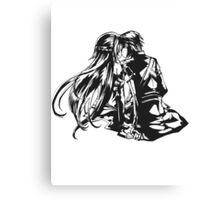 SAO - Asuna & Kirito Canvas Print