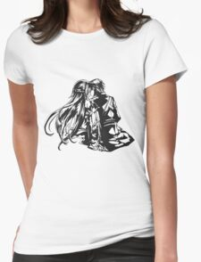 SAO - Asuna & Kirito Womens Fitted T-Shirt