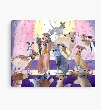 Who Let The Pups Out? Canvas Print