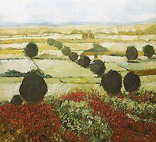 Wildflower Valley by Allan P Friedlander