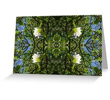Kaleidoscope - Tree Series Magnolia Greeting Card
