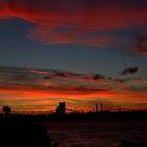 Fiery Skies by MaluMoraza