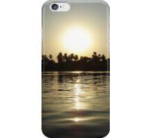 Waking sunrise on the Nile iPhone Case/Skin