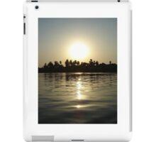 Waking sunrise on the Nile iPad Case/Skin