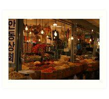 Seoul shopfront Art Print