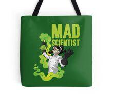 Mad Scientist T Shirt Tote Bag