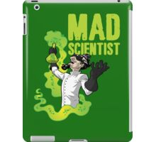 Mad Scientist T Shirt iPad Case/Skin