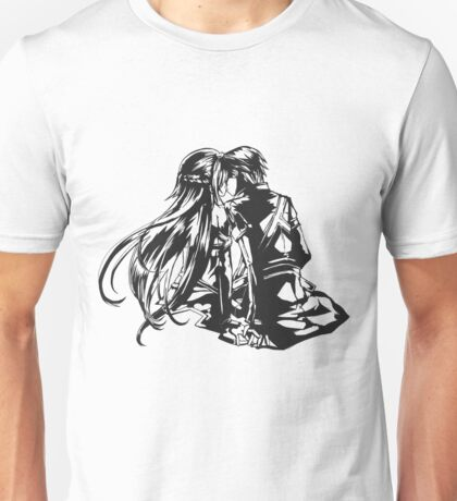 SAO - Asuna & Kirito Transparent Unisex T-Shirt