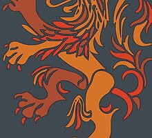 Netherlands Lion Logo by Midwestern