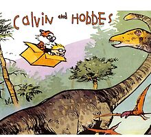 calvin and hobbes by thejungle
