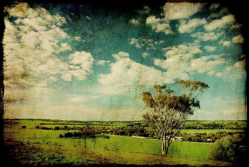Kapunda Lookout... by Carol Knudsen