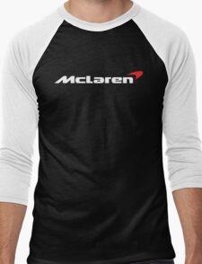 Mclaren logo Men's Baseball ¾ T-Shirt
