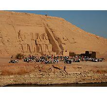 Great Temple of Ramses II at Abu Simbel Photographic Print
