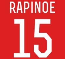 Megan Rapinoe #15 Kids Tee