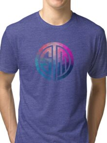 TSM Geometria Eminence Distressed Tri-blend T-Shirt