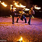 FLAMEOZ at WOODFORD FOLK FESTIVAL by MARK HEAD