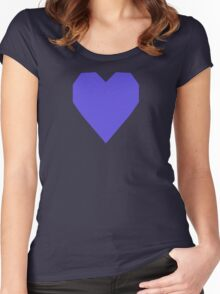 Majorelle Blue  Women's Fitted Scoop T-Shirt