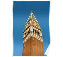 Bell-tower (Campanile), Piazza San Marco, Venice Poster