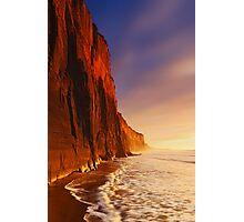 Dawn at Demon's Bluff - Anglesea Photographic Print
