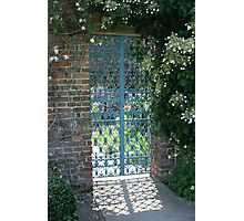 The Garden Gate Photographic Print