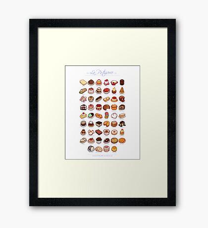La Pâtisserie Framed Print