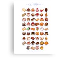 La Pâtisserie Canvas Print