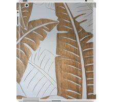 Wooden Leaves iPad Case/Skin