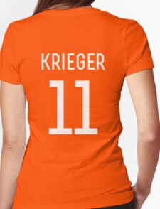 Ali Krieger #11 Womens Fitted T-Shirt