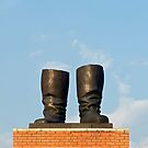 Stalin's Grandstand, Statue Park, Budapest, Hungary  by Petr Svarc