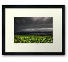 Hervey Bay Storm Framed Print