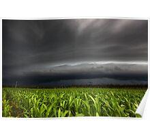 Hervey Bay Storm Poster