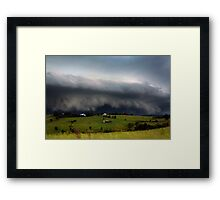 Boonah Storm Framed Print