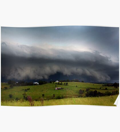 Boonah Storm Poster